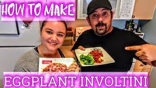 Cosplay Meal Prep - How to Prepare Eggplant Involtini