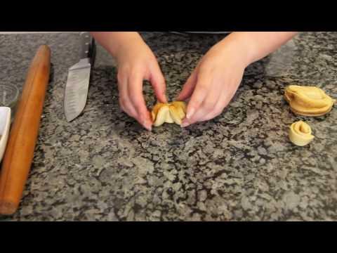 Разные  формы булочек