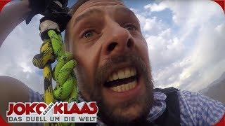 USA: Heißluftballon-Ropeswing | Joko gegen Klaas - Das Duell um die Welt | ProSieben