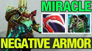 Negative Armor To The Miracle- Enemy Team - Dota2