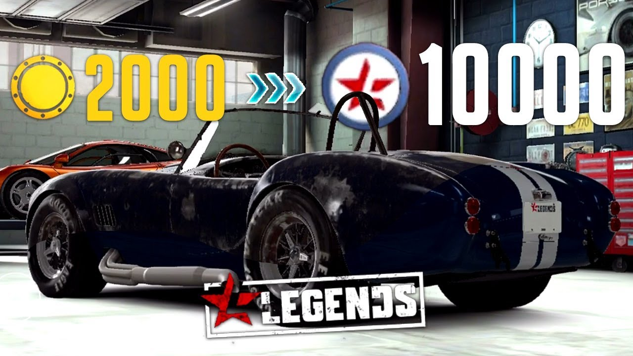 CSR Racing 2 | Fastest Way To Restore Legend Cars! 2000 Gold → 10k  Components! [Patched 2 2]