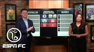 Predicting 2017/18 Premier League's Top 4 | ESPN FC