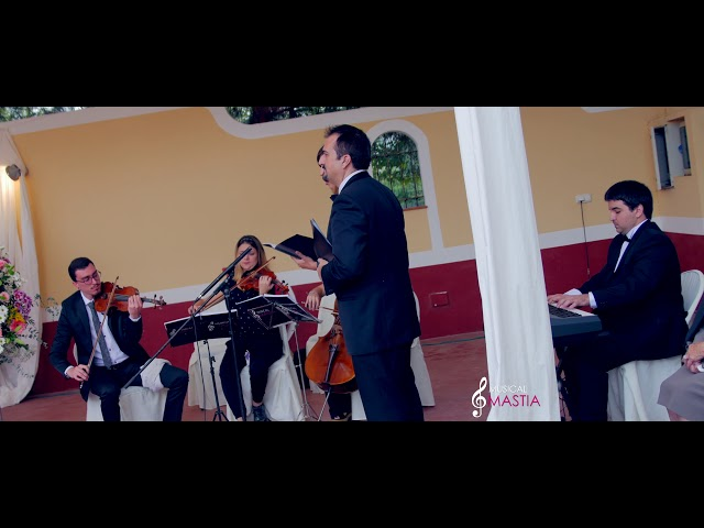 Musica bodas Murcia O Sole Mio - Soprano y tenor Il Volo