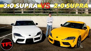 Is The New 2021 Toyota Supra 4-Cylinder the Better (or Worse) Bargain Supra?