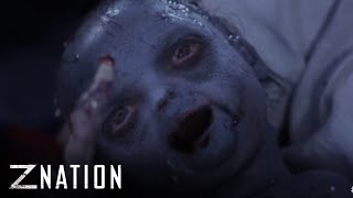 "Z NATION (Clips) | Aww, It's a Girl! from ""Zombaby"" 
