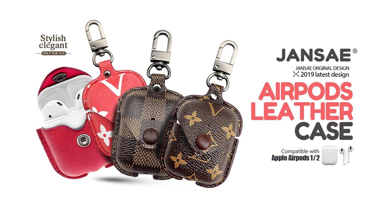 Jansae 2020 Luxury Airpods Case Cover Lv Louis Vuitton Etc By Jansae Original Designer Youtube