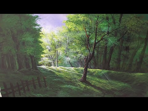 Painting , Acrylic Painting,Landscape Painting -Dark and Light