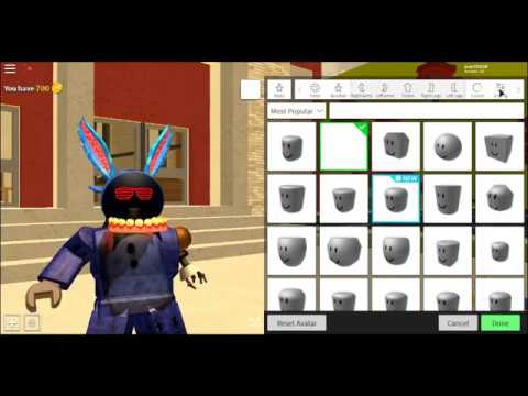 How to be Old Bonnie in Robloxian High School