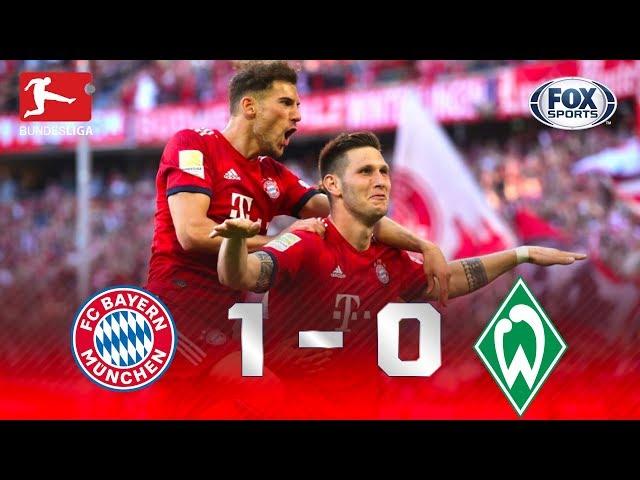 Bayern Múnich - Werder Bremen [1-0] | GOLES | Jornada 30 | Bundesliga