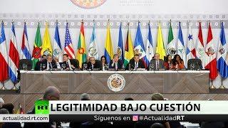 La OEA reconoce al enviado de Guaidó como representante de Venezuela