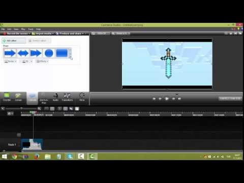 Camtasia Studio 8 dersleri video birleştirme ve intro yapma