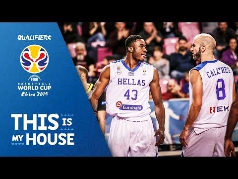 ΕΛΛΑΔΑ - ΙΣΡΑΗΛ 82-61 Highlights του αγώνα για τα Προκριματικά Παγκοσμίου Κυπέλλου