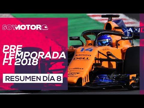 F1 2018 Test Barcelona, día 8 – Resumen jornada