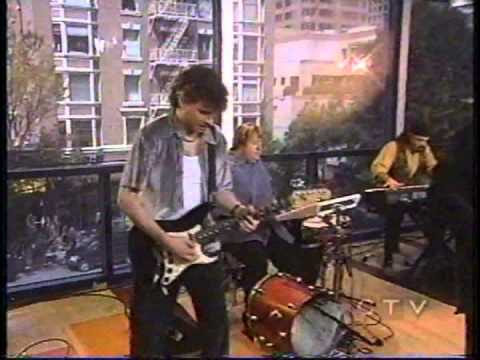 Doug and the Slugs on TV playing live in the studio