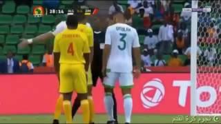 تفاصيل مباراة الجزائر وزيمبابوي 2-2  ( كاس أمم افريقيا 2017 ) تعليق حفيظ دراجي