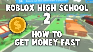 Codes (in desc) & Tips on How to Earn Money Fast in Roblox High School 2