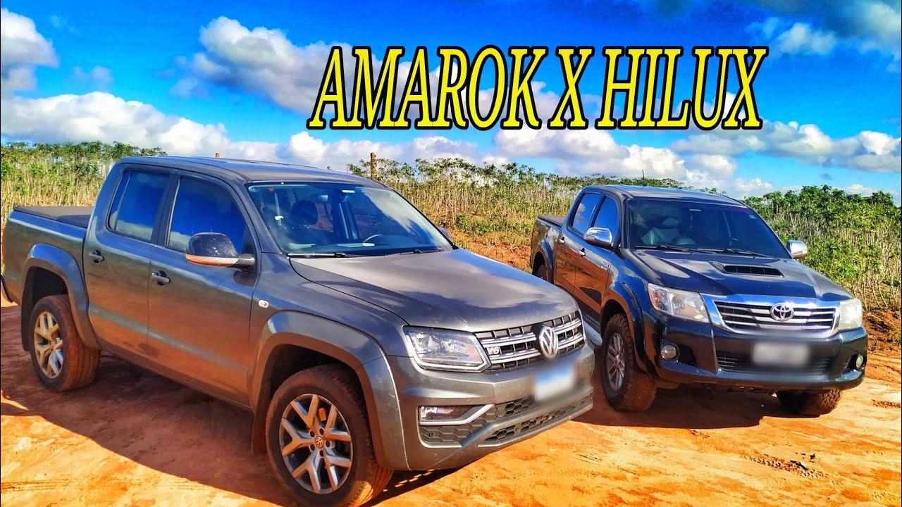 AMAROK V6 X HILUX 3.0 250CV | QUEM LEVOU ESSA?