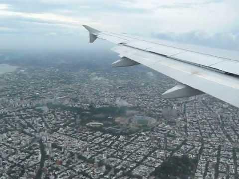 Aterrizaje en Montevideo Uruguay / Landing in Montevideo Uruguay