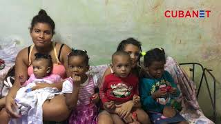 Madre y trabajadora cubana vive con sus 6 hijos en condiciones deplorables en La Habana, Cuba