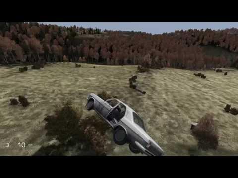 DayZ Flying car glitch!