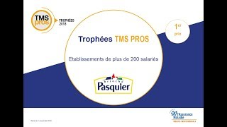 [Trophées TMS Pros 2018] Lauréat catégorie « Plus de 200 salariés » :  Brioches Pasquier Charancieu