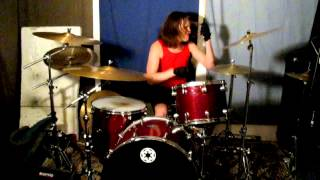 queens of the stone age   3s and 7s drum cover
