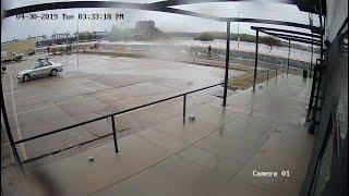 VIDEO: Watch as the HESCO barriers break
