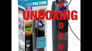 видео Фильтр внутренний AQUAEL UNIFILTER 750 UV POWER  (от 200 до 300 л)