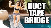 DUCT TAPE CHALLENGE POOL BRIDGE FAIL