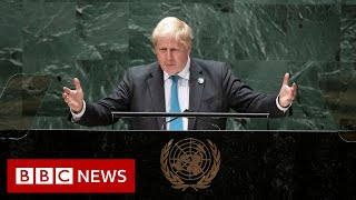 Humanity is reaching a turning point on climate change says UK PM - BBC News