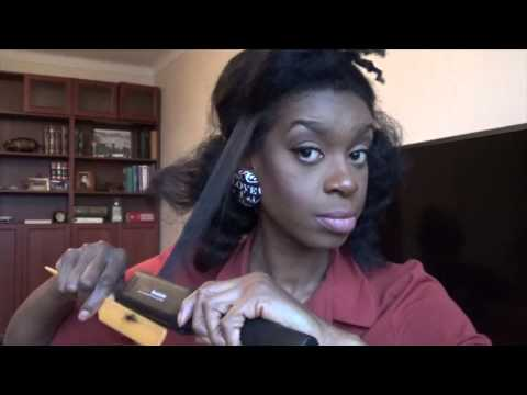 flat iron 4c hair