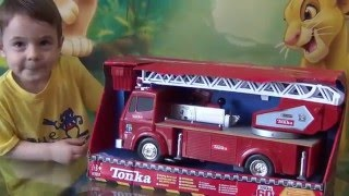 Toy Truck Videos for Children. Toy Fire Truck at Bogdan`s Show.
