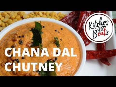 Idli/Dosa Chutney | Chana Dal Chutney | Sanaga Pachhadi
