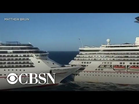 Two Carnival Cruise Ships Collide In Mexico