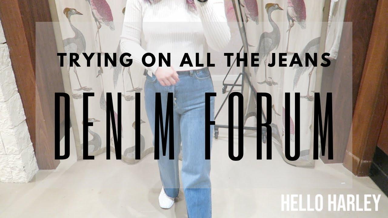 Denim Forum THE NINA STOVEPIPE | Aritzia CA