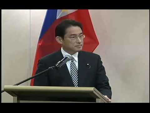 PH AND JAPAN JOINT PRESS CONFERENCE WITH MINISTER FUMIO KISHIDA AND DFA SECRETARY PERFECTO YASAY