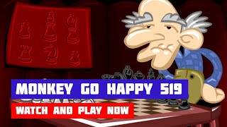 Monkey GO Happy: Stage 519 — Chess · Game · Walkthrough