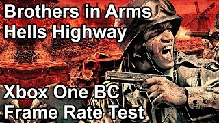 Brothers in Arms Hell's Highway Xbox One X vs Xbox One vs Xbox 360 Frame Rate Comparison