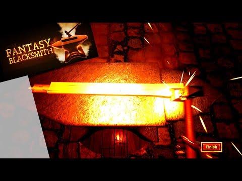 Fantasy Blacksmith - I shall make the mightiest sword ever! |