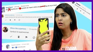 REACTING TO MEAN COMMENTS😭 | RICKSHAWALI