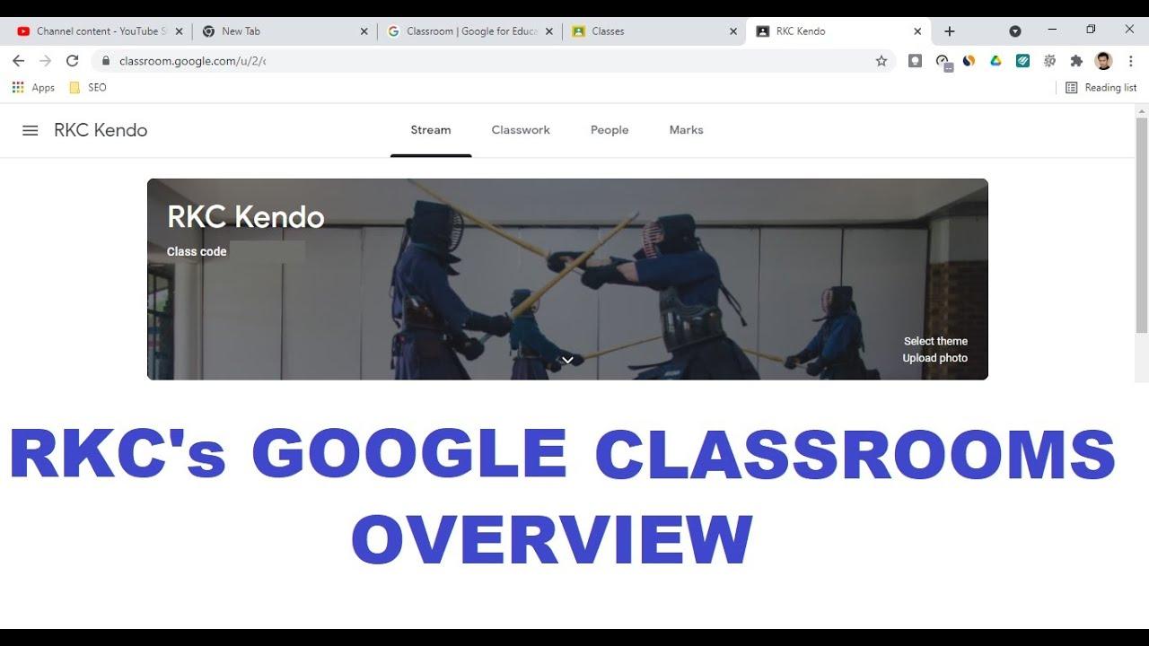 RKC's Google Classroom Resource