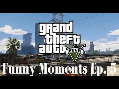 GTA 5 Online Funny Moments Ep. 5: Stealing a military jet
