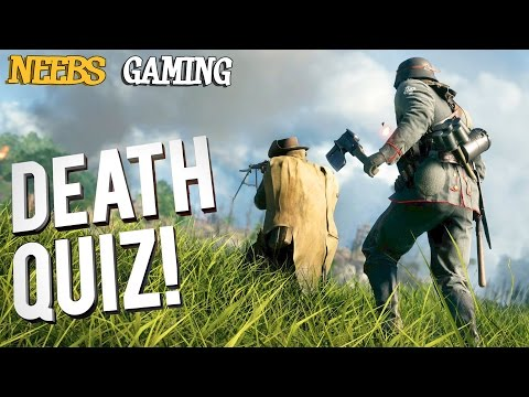 Battlefield 1 Death Quiz!  They Shall Not Pass DLC  - Can You Beat Us? |