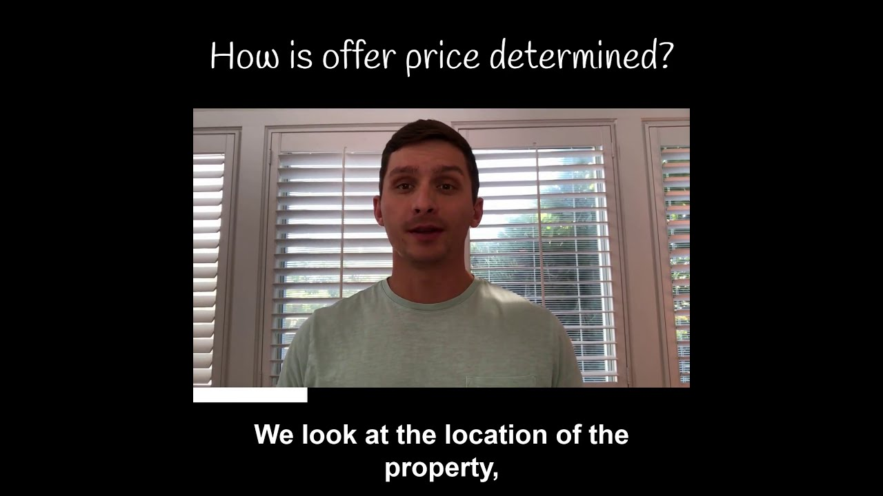 How is offer price determined?