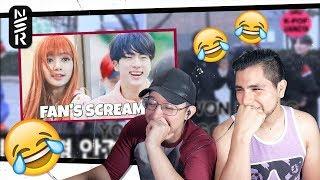 Kpop Idols React To Fan's Screams
