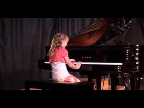 Julie Richardson's 1st piano recital