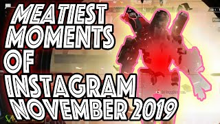 APEX LEGENDS - MEATY MOMENTS OF NOVEMBER!!! EPIC GAMEPLAY AND SQUAD WIPES!!!  KRABER MADNESS!!!