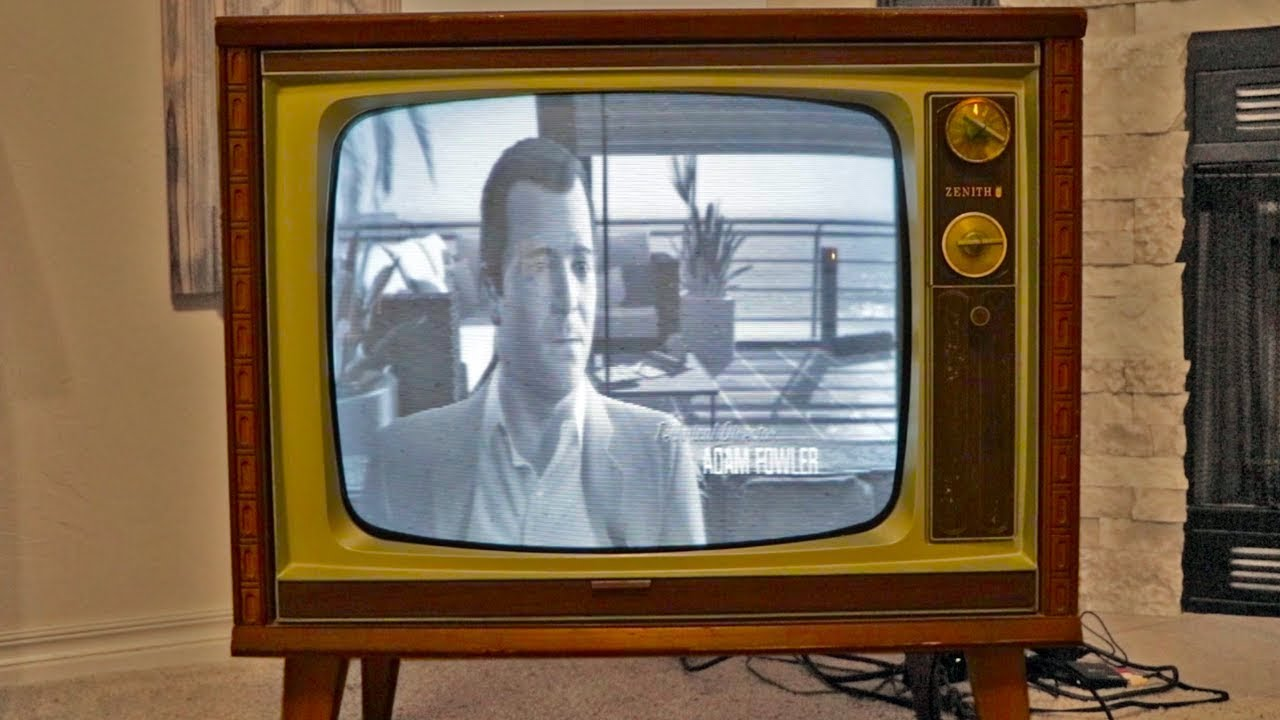 Playing Gta 5 On A 1950s Tv