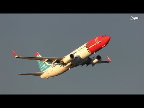 [4K] Norwegian Boeing 737s: Plane Spotting At Oslo Gardermoen Airport: Episode 12