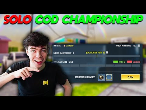 $1,000,000 COD Mobile Championship Qualifiers (I'm playing Solo)